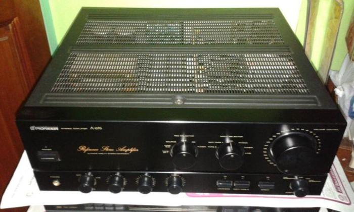 AUDIOPHILE REFERENCE PIONEER A-676 INTEGRATED
