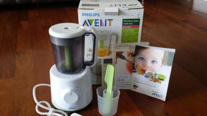 avent all in one steamer and blender