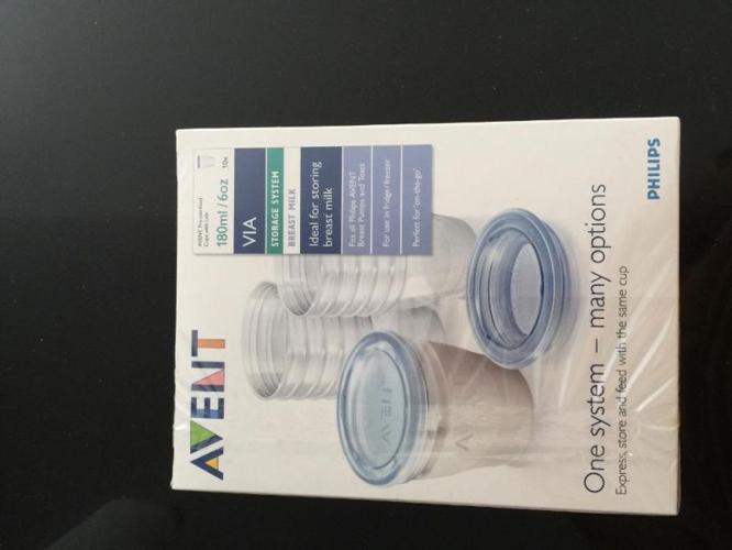 Avent milk storage container (new)