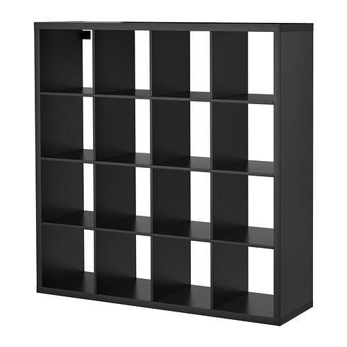 Awesome 4x4 IKEA shelving unit