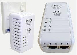 WTS: Aztech HL110EW HomePlug AV 2-Port Wireless N