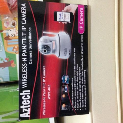 Aztech Wireless Tit/Pan IP camera cctv