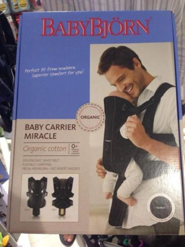 790013e43ac BABY BJORN MIRACLE BABY CARRIER for Sale in Shelford Road