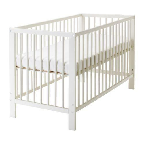 Baby cot from Ikea (Gulliver White)