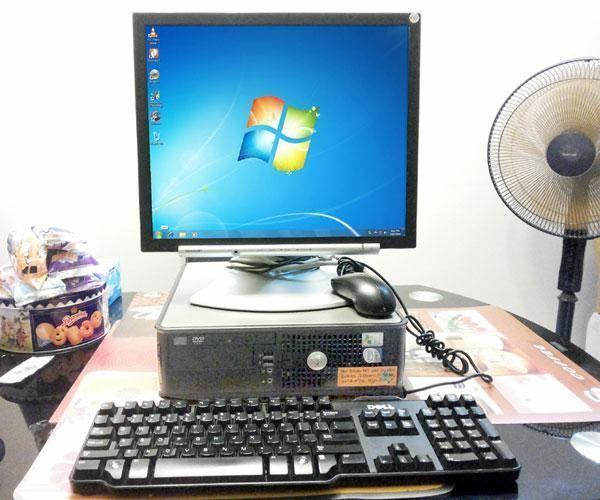 Baby Dell Optiplex 745 Core2Duo 2 66GH Windows 7 Office