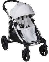 Baby Jogger City Select Double Stroller W Boogie Board Bag For