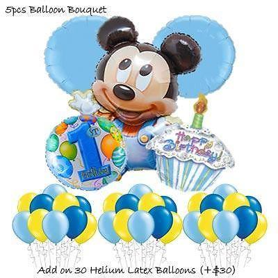 Baby Mickey Mouse Balloon Bouquet by Party Wholesale