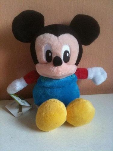 Baby Mickey Mouse in Blue Overall