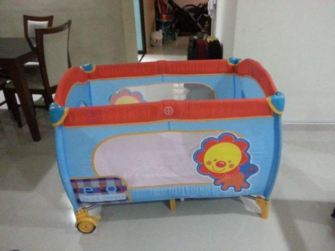 Baby Playpen / Play Pen with Free Matress