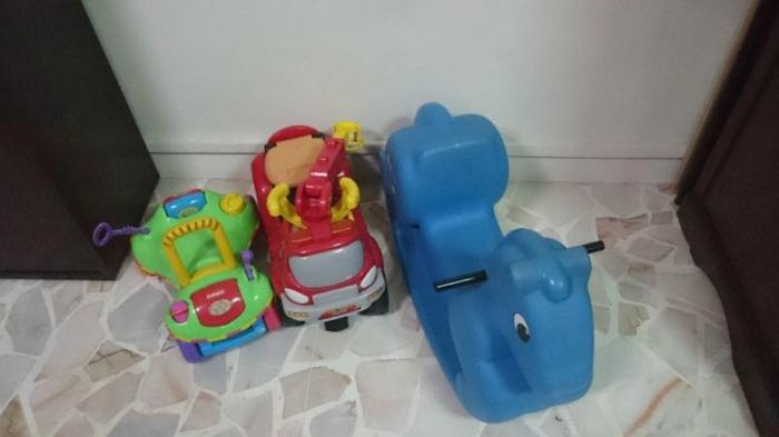 Baby Rockers Walkers and Various Toys