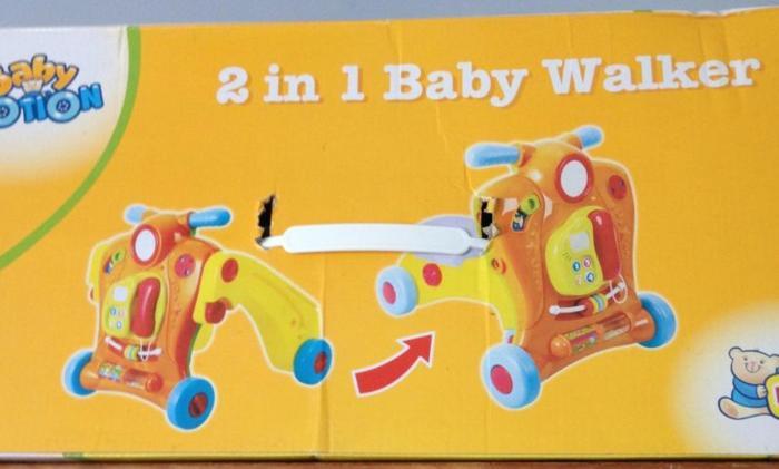 Baby Walker- 2-in 1......MUSICAL