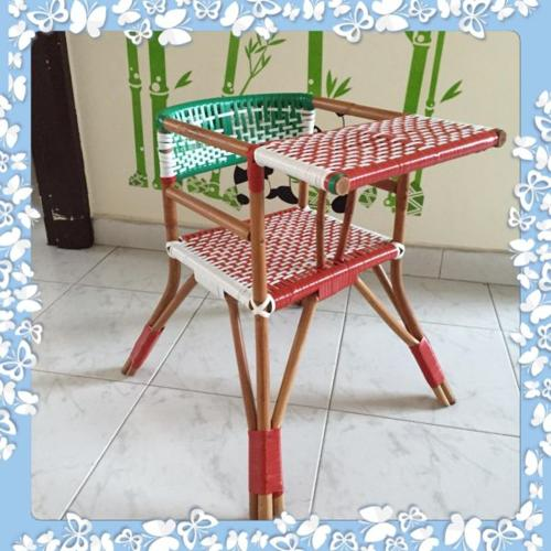 Bamboo chair for kids