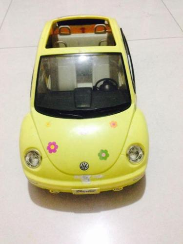 Barbie car - doors & back side can open
