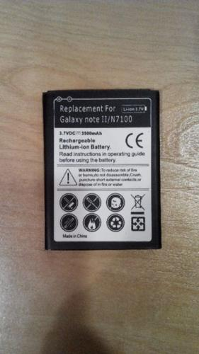 Battery for Samsung Galaxy Note 2 , N7100