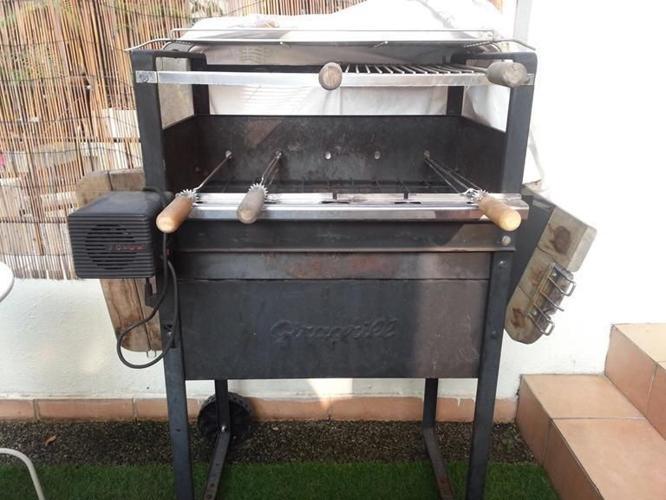 BBQ - eletric skewer rotation