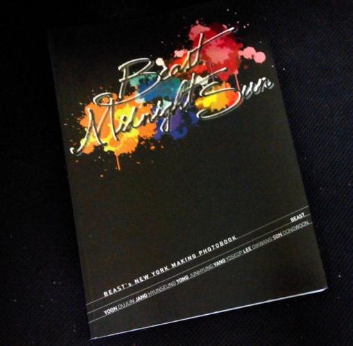 BEAST's New York Making Photobook 2013 & Lee Minho A5