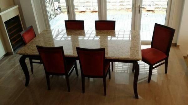 Beautiful Marble Dining Table For Sale!!!