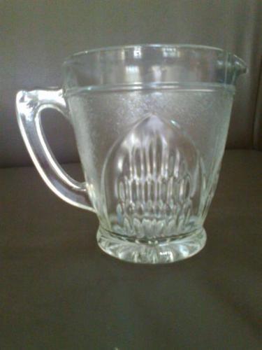 Beautiful Vintage Retro Glass Jug Pitcher- $70 New Old