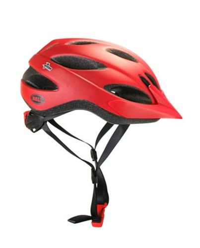 Bell Piston Helmet - Matte Red Comet
