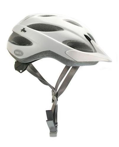 Bell Piston Helmet - White/Silver