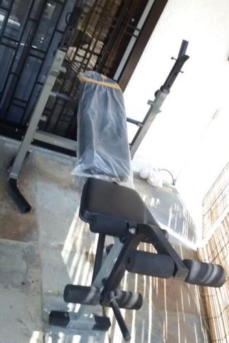 Bench Press Machine PLUS Weights FOR URGENT SALE!