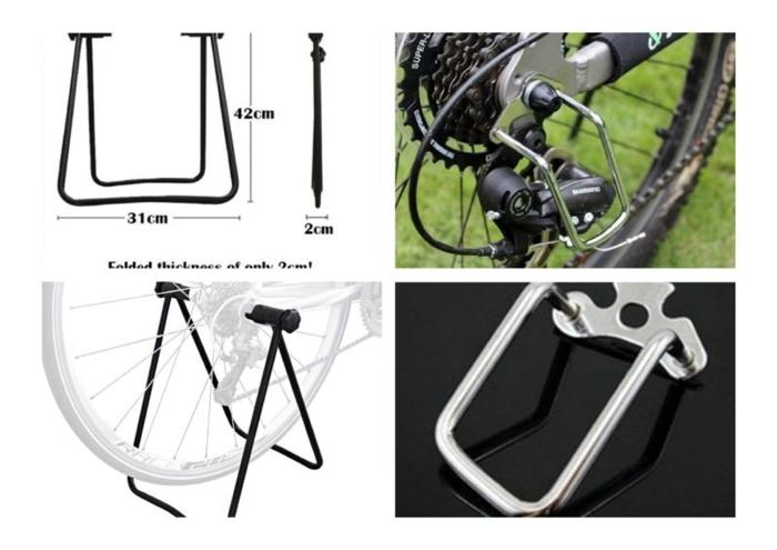 Bicycle centre stand + Rear Derailleur Chain Stay