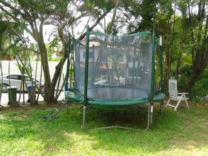 Big trampoline Play garden