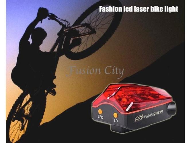 Bike Bicycle Cycling Rear Tail Light Sports Lamp 3