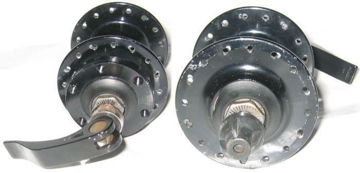Bike components: front hub for bicycle