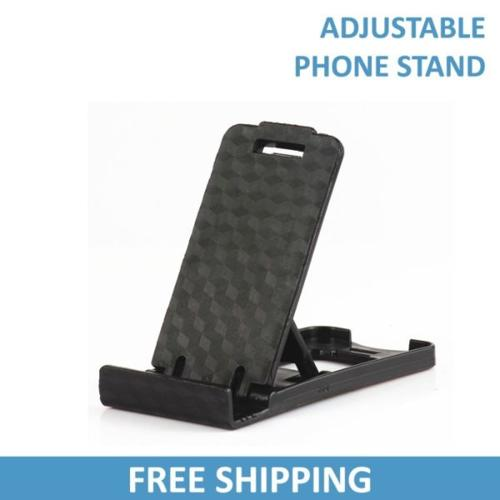 Black Adjustable Phone Stand / Support