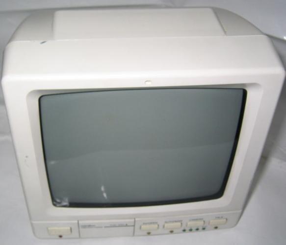 Black and White CRT CCTV monitor unit
