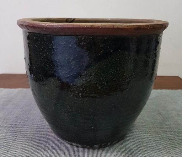Black Plant Flower Pot Planter