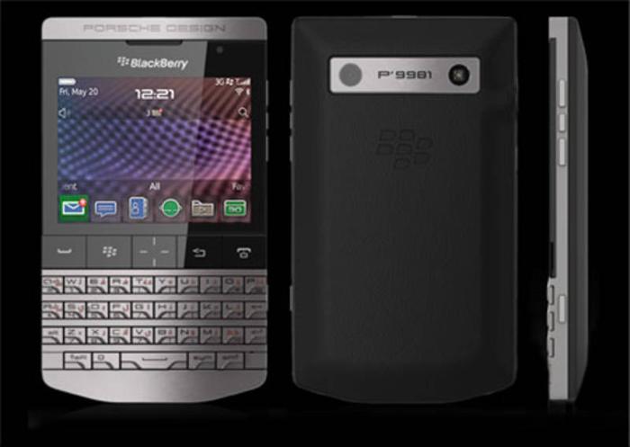 Blackberry Prosche