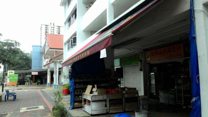 Blk 89 Bedok North Street 4 half a shop for rent