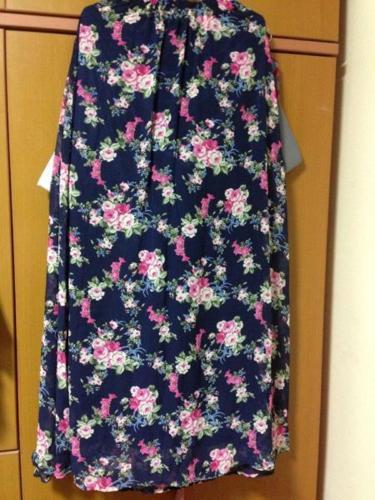 BN Chiffon Long Skirt