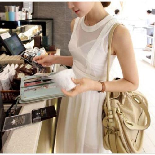 BN Hannah White Maxi Dress