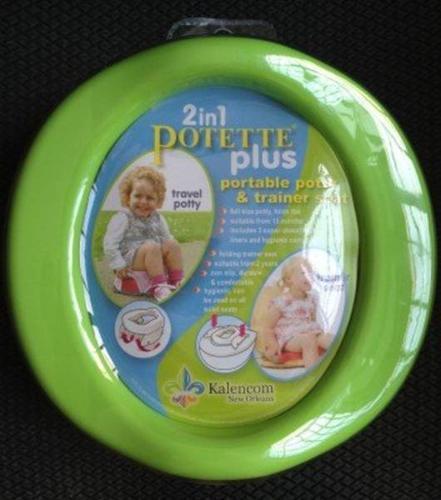 BN Potette Plus (Green) - Portable Folding Potty &