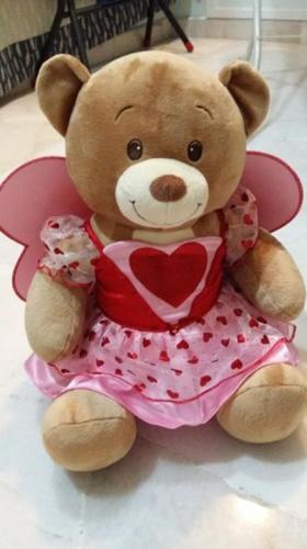 BNIB- build-a-bear velvet hugs teddy