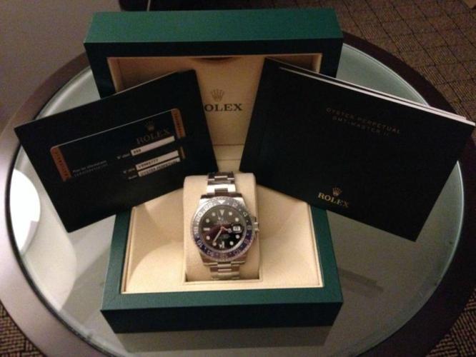 BNIB Rolex GMT Master II 116710 BLNR