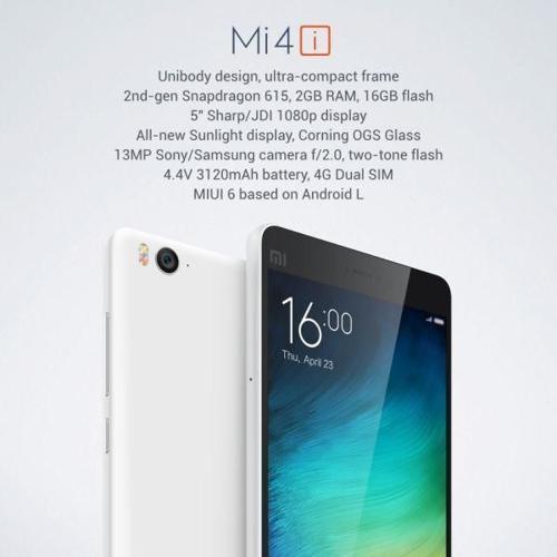 (BNIB) Xiaomi Mi 4i White - Priced to sell