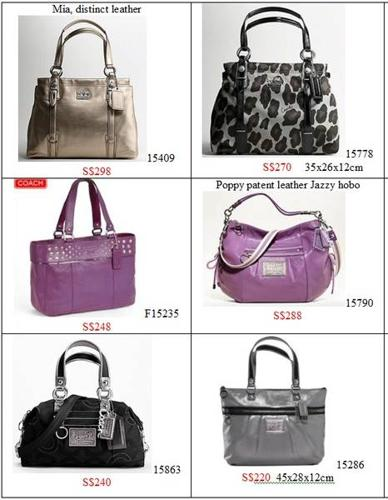 BNWT Authentic COACH tote hobo Clearance Sales @220-298