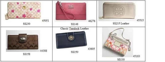 BNWT Authentic COACH Wallet for Sale @130-230 only