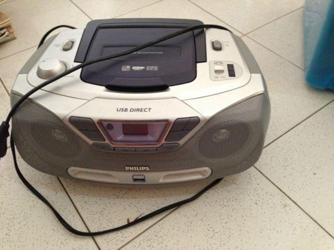 Boogie Box - CD, MPS, USB, radio