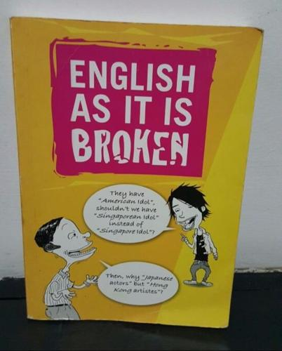 Book- 'English As It is Broken'