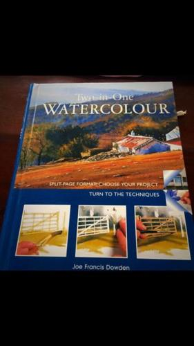 Book on Water Colour