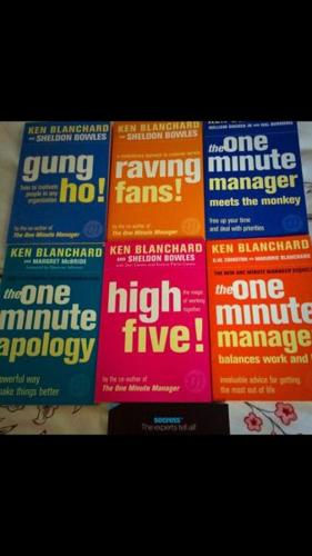 Books - Minute Manager $60 for all or $8 each