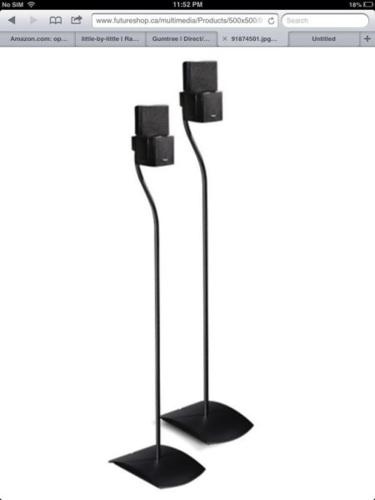 Bose floor stands $120 for a pair