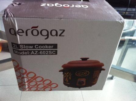 Brand New Aerogaz AZ-602sc Slow cooker