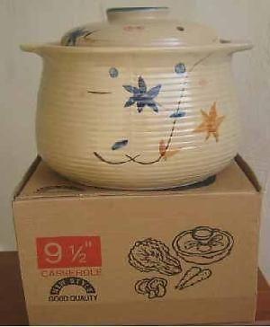 BRAND NEW Casserole Claypot (9.5