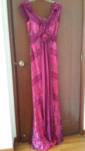 Brand New Couture evening gown